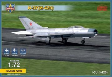 Mikoyan I-3U(I-420) Soviet interceptor · MSV 72010 ·  Modelsvit · 1:72