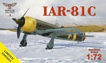 IAR-81C (no.320,323,343,344) · MSV 72012 ·  Modelsvit · 1:72