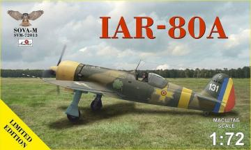 IAR-80A (no.109,31) · MSV 72013 ·  Modelsvit · 1:72