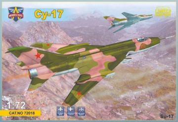 Sukhoi Su-17 Serial · MSV 72018 ·  Modelsvit · 1:72