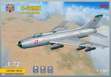 Sukhoi S-32MK Soviet bomber · MSV 72019 ·  Modelsvit · 1:72