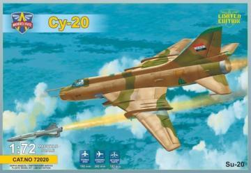 Sukhoi Su-20 (with Kh-28 missile) · MSV 72020 ·  Modelsvit · 1:72