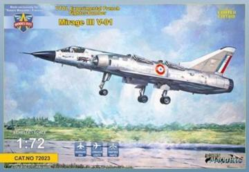 Mirage III-V-01 French VTOL · MSV 72023 ·  Modelsvit · 1:72
