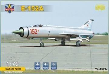 Ye-152A Soviet twin-engined interceptor prototype · MSV 72028 ·  Modelsvit · 1:72