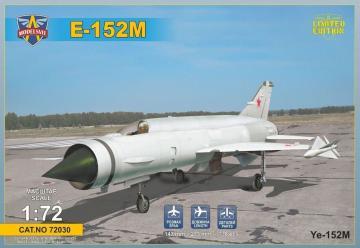 Ye-152M Heavy interceptor prototype · MSV 72030 ·  Modelsvit · 1:72