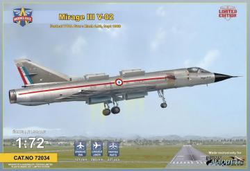 Mirage III V-02 Fastest VTOLever Limited · MSV 72034 ·  Modelsvit · 1:72