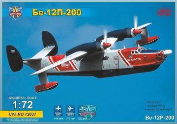 Beriev Be-12P-200 Firefighting flying boat · MSV 72037 ·  Modelsvit · 1:72