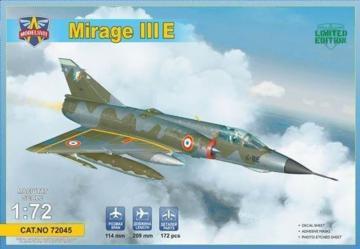 Mirage IIIE Fighter-Bomber · MSV 72045 ·  Modelsvit · 1:72