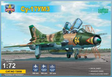 Su-17UM3 advanced two-seat trainer · MSV 72050 ·  Modelsvit · 1:72
