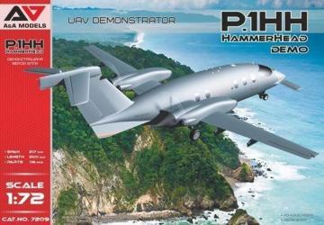 P.1HH Hammerhead Demo UAV Demonstrator · MSV 7209 ·  Modelsvit · 1:72