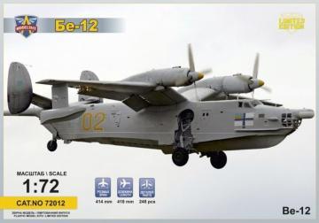 Beriev Be-12 Soviet amphibious aircraft · MSV 7312 ·  Modelsvit · 1:72