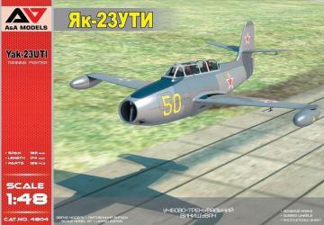 Yakovlev Yak-23 UTI Military trainer · MSV AAM4804 ·  Modelsvit · 1:48