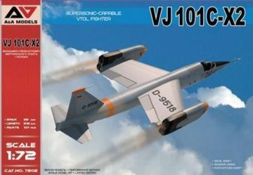 VJ101C-X2 Supersonic-capable VTOL fighter · MSV AAM7202 ·  Modelsvit · 1:72