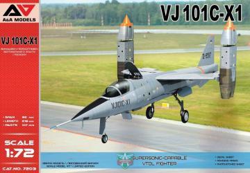 VJ101C-X1 Supersonic-capable VTOL fighter · MSV AAM7203 ·  Modelsvit · 1:72