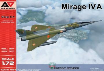 Mirage IV A Strategic bomber · MSV AAM7204 ·  Modelsvit · 1:72