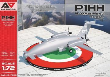 P1.HH HammerHead(Concept) UAV · MSV AAM7206 ·  Modelsvit · 1:72
