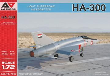 HA-300 Light supersonic interceptor · MSV AAM7207 ·  Modelsvit · 1:72