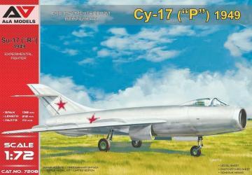 Su-17 (1949) advanced prototype · MSV AAM7208 ·  Modelsvit · 1:72