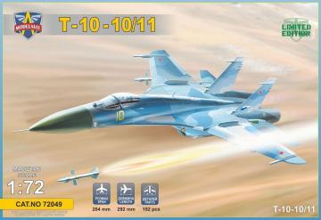 T-10-10/11 Advanced Frontline Fighter (AFF) prototype · MSV MSVIT72049 ·  Modelsvit · 1:72
