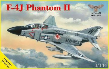 F-4J Phantom II · MSV SVM14001 ·  Modelsvit · 1:144