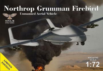 N.G.Firebird UAV concept · MSV SVM72003 ·  Modelsvit · 1:72