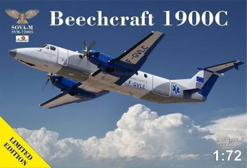 Beechcraft 1900C-1 Ambulance F-GVLC · MSV SVM72005 ·  Modelsvit · 1:72