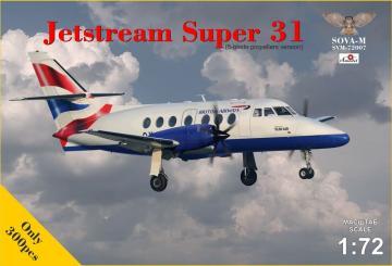 Jetstream Super 31 · MSV SVM72007 ·  Modelsvit · 1:72