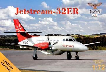 Jetstream-32ER · MSV SVM72010 ·  Modelsvit · 1:72