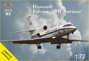 Falcon 50M Surmar (French NAVY) · MSV SVM72015 ·  Modelsvit · 1:72