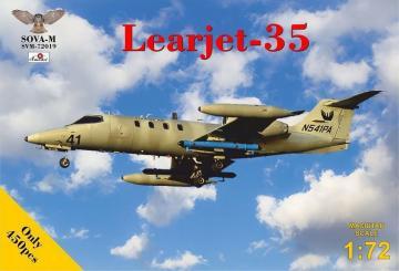 Learjet 35 · MSV SVM72019 ·  Modelsvit · 1:72
