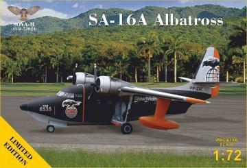SA-16A Albatross flying boat (reg No: PP-ZAT) - Limited Edition · MSV SVM72024 ·  Modelsvit · 1:72