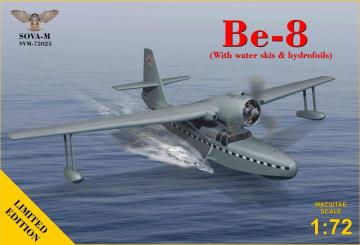 Be-8- Amphibian aircraft (with water skis & hydrofoils) - Limited Edition · MSV SVM72025 ·  Modelsvit · 1:72