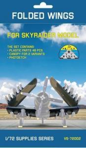 Folding wing set for AD-5 SkyRaider · MSV VS72002 ·  Modelsvit · 1:72