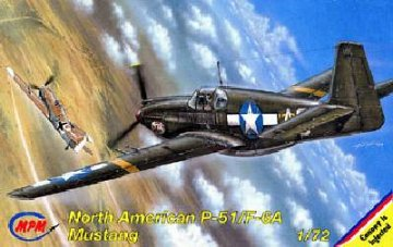 North American P-51 A Mustang Photoversion · MPM 72085 ·  MPM · 1:72