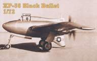 Northrop XP-56 · MPM 72098 ·  MPM · 1:72