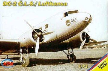 Douglas DC-2 Lufthansa · MPM 72505 ·  MPM · 1:72