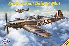 Boulton Paul Defiant Mk. I · MPM 72513 ·  MPM · 1:72