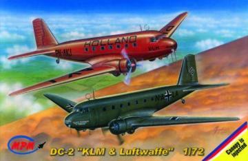 Douglas DC-2 KLM/Luftwaffe · MPM 72515 ·  MPM · 1:72