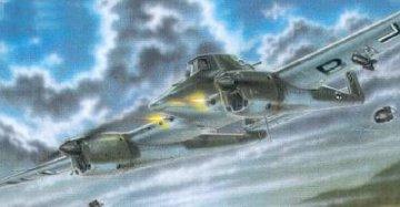 Focke-Wulf Fw 189 V-6 · MPM 72516 ·  MPM · 1:72