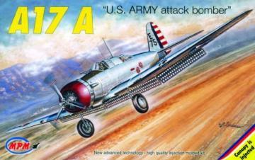 Northrop A-17A · MPM 72521 ·  MPM · 1:72