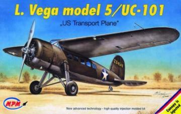 Lockheed Vega 5/UC-101 · MPM 72522 ·  MPM · 1:72