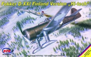 Fokker D XXI Finland Version Hi-tech · MPM 72526 ·  MPM · 1:72