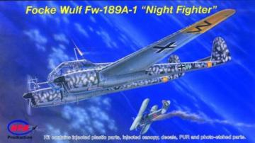 Focke-Wulf Fw 189 A-1 Night Fighter · MPM 72529 ·  MPM · 1:72