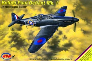 Boulton Paul Defiant Mk. I Hi-Tech · MPM 72530 ·  MPM · 1:72