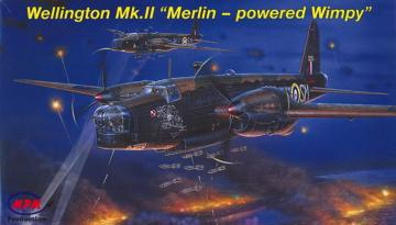 Wellington Mk.II Merlins´powered Wimpy · MPM 72535 ·  MPM · 1:72