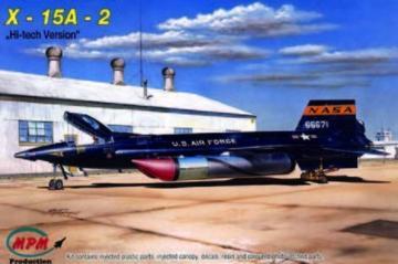 X-15A-2 Hi-Tech · MPM 72537 ·  MPM · 1:72