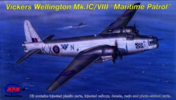Wellington Mk.IC/VIII · MPM 72540 ·  MPM · 1:72