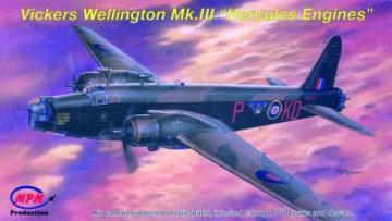 Vickers Wellington Mk.III ´´Hercules Engines´´ · MPM 72542 ·  MPM · 1:72