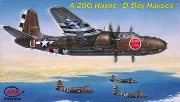 A-20G D-Day Havocs · MPM 72551 ·  MPM · 1:72