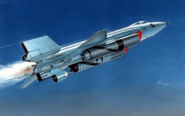X-15A-2 with Dummy Scramjet · MPM 72562 ·  MPM · 1:72